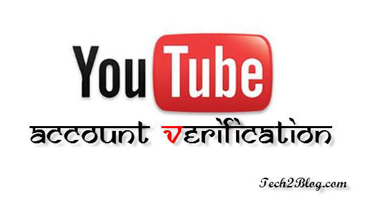 YouTube Account Verification