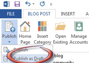 Office365 WordPress Publish
