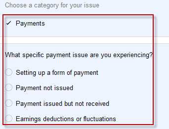 Adsense Payment issue form