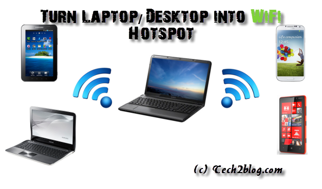 Laptop Wifi Hotspot free