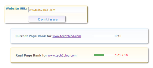 Predicting PageRank of Website