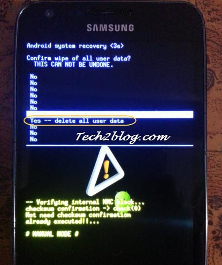 Samsung galaxy 2 unlock